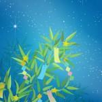 七夕の笹飾り終わったらどうする?いつまで飾る?短冊は保管すべき?