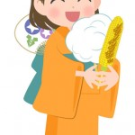浴衣ヘアアレンジ簡単子供向け髪型ショートや髪が少ない場合は?