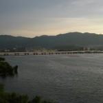 琵琶湖花火大会は対岸の帰帆島や草津イオンで観れる?