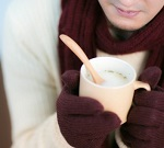 スヌードを手編みメンズの長さとサイズ。彼氏にプレゼントはコレ!